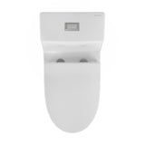 Daxton One Piece Elongated Dual Flush Toilet 1.1/1.6 GPF