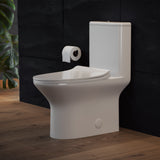 Cascade One Piece Toilet Dual Flush 1.1/1.6 gpf