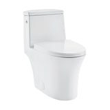 Hugo One Piece Elongated Toilet, Touchless 1.1 / 1.6 gpf