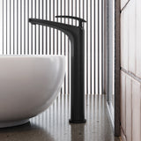 Sublime 11 Single Handle, Bathroom Faucet in Matte Black