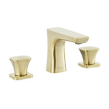 Monaco 8 in. Widespread, 2-Handle, Bathroom Faucet in Brushed Gold