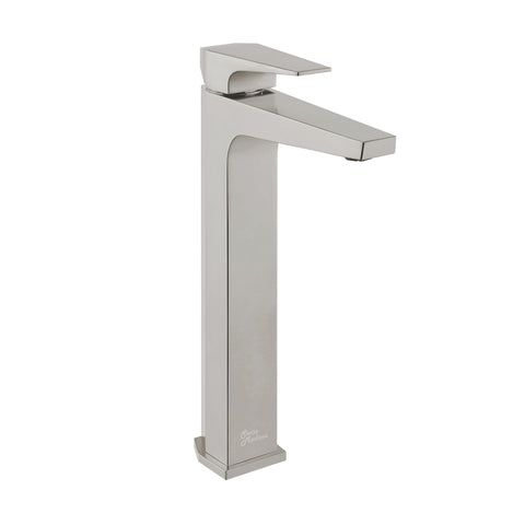 Voltaire Single Hole, Single-Handle, High Arc Bathroom Faucet in Brushed Nickel