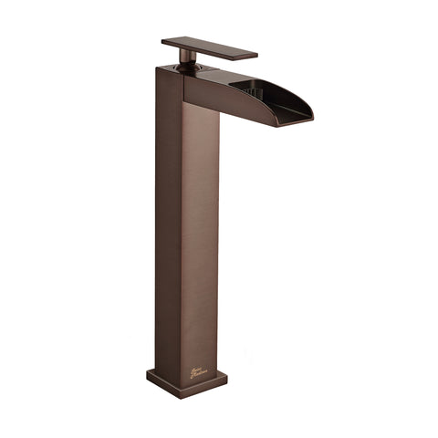Concorde Single Hole, Single-Handle, High Arc Waterfall, Bathroom Faucet in Oil Rubbed Bronze