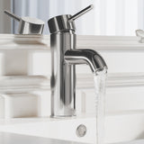 Ivy 7.5 Single Handle, Bathroom Faucet in Chrome