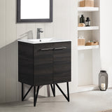 "Annecy 24"" Bathroom Vanity in Black Walnut"