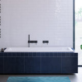 "Voltaire 72"" x 36"" Reversible Drain Drop-In Bathtub"