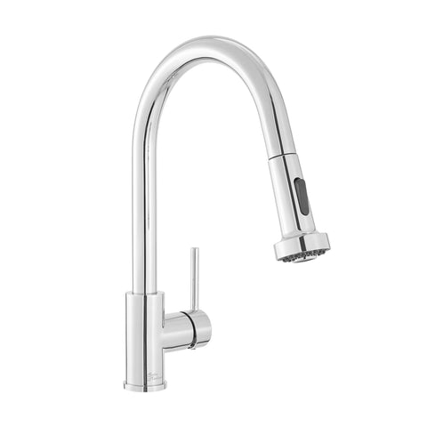 Nouvet Single Handle, Pull-Down Kitchen Faucet in Chrome