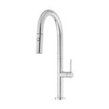 Chalet Single Handle, Pull-Down Kitchen Faucet in Chrome