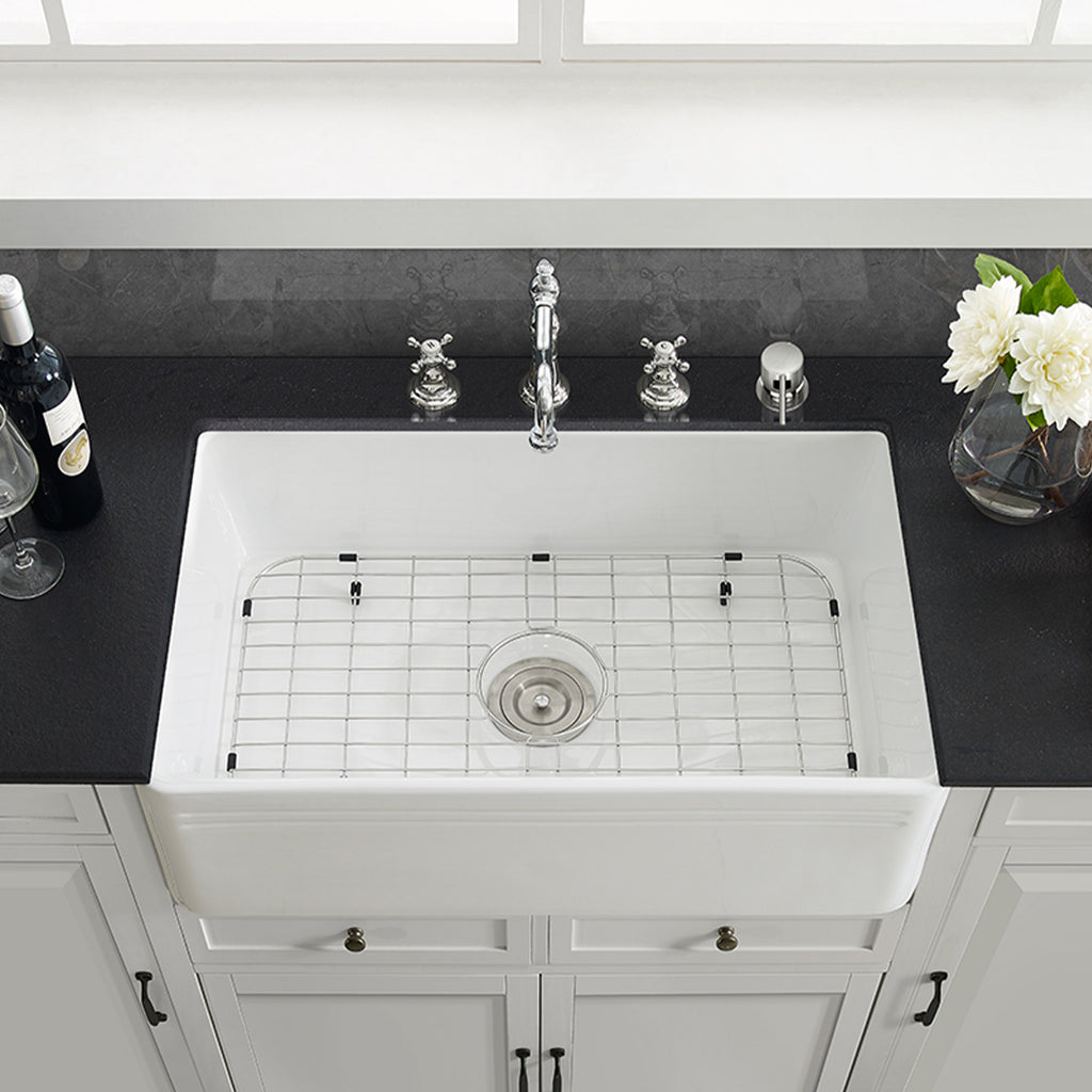 Delice 30 X 18 Ceramic Farmhouse Kitchen Sink Swiss Madison Well Made Forever