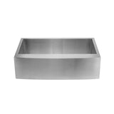 Tourner 30 x 21 Stainless Steel, Single Basin, Farmhouse Kitchen Sink with Apron