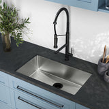 "Rivage 30"" x 18"" Single Basin, Undermount Kitchen Sink"