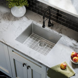 "Tourner 21"" x 18"" Stainless Steel, Single Basin, Undermount Kitchen Sink"