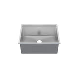 Rivage 30 x 19 Single Basin Undermount Kitchen Workstation Sink