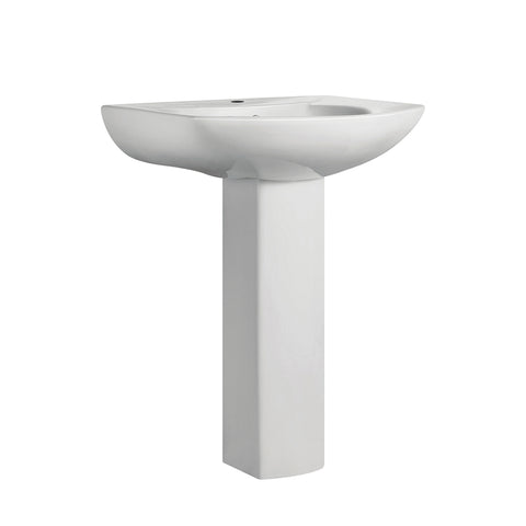 Château Two-Piece Round Pedestal Sink