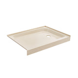 Voltaire 48 x 36 Single-Threshold, Left-Hand Drain, Shower Base in Biscuit