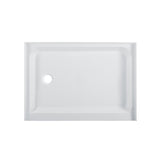 "Voltaire 48"" X 36"" Left-Hand Drain, Shower Base"