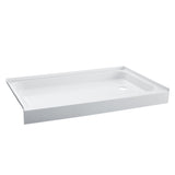 "Voltaire 48"" X 36"" Right-Hand Drain, Shower Base"