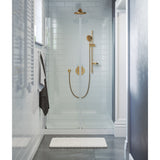 "Voltaire 48"" x 36"" Center Drain, Shower Base"