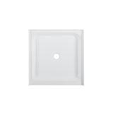 "Voltaire 36"" x 36"" Center Drain, Shower Base"