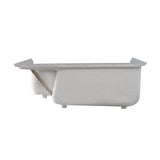 "Aquatique 60"" x 32"" Left Drain, Shower Base"