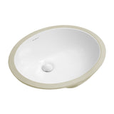 "Monaco 18.5"" Oval Undermount Bathroom Sink"