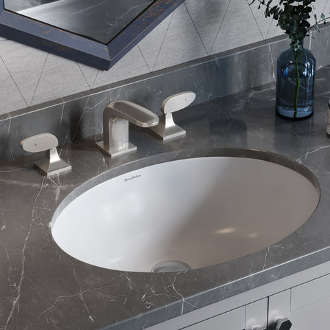 Monaco 19 5 Oval Undermount Bathroom Sink Swiss Madison Well Made Forever