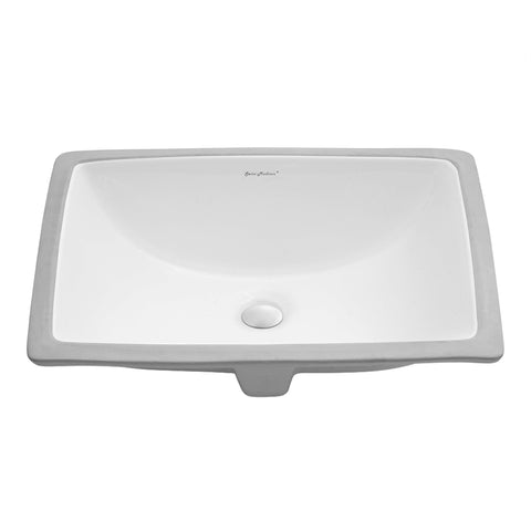 "Plaisir 21.5"" Rectangle Undermount Bathroom Sink"