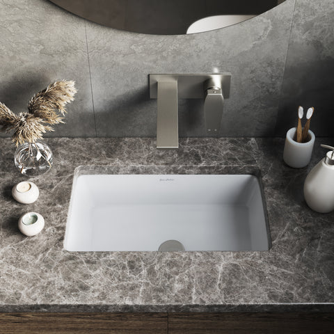 "Voltaire 21"" Rectangle Undermount Bathroom Sink"