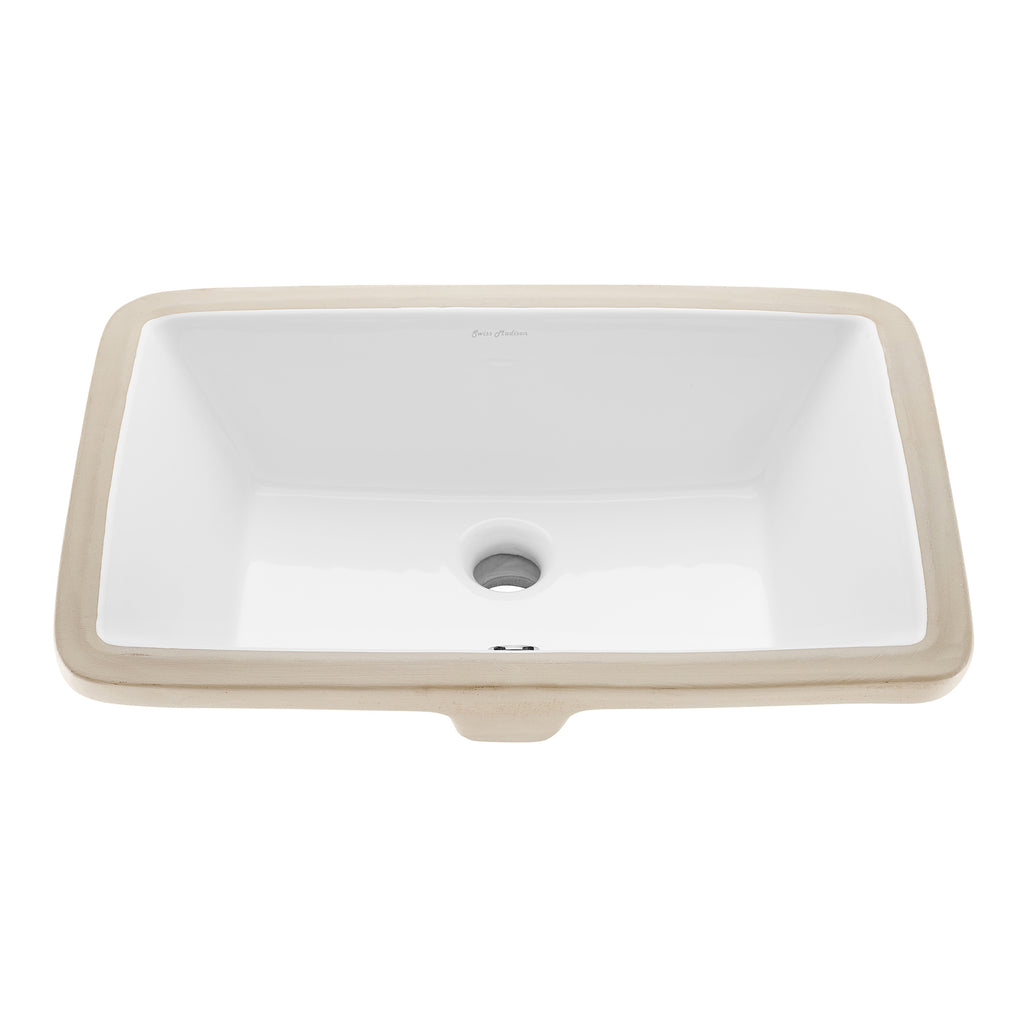 Voltaire 21 Rectangle Undermount Bathroom Sink Swiss Madison Well Made Forever