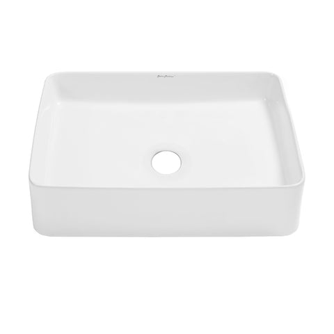 "Concorde 19"" Rectangle Ceramic Vessel Sink"