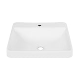 Carré Large Rectangle Vessel Sink