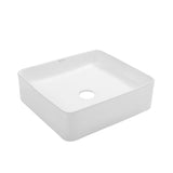 "Concorde 15"" Square Ceramic Vessel Sink"
