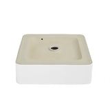 "Concorde 14.5"" Square Vessel Bathroom Sink"