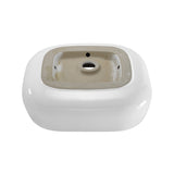 "Château 18"" Square Vessel Bathroom Sink"