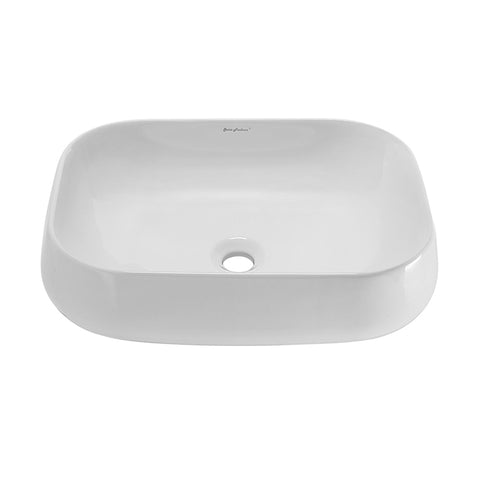 "Château 22"" Square Vessel Bathroom Sink"