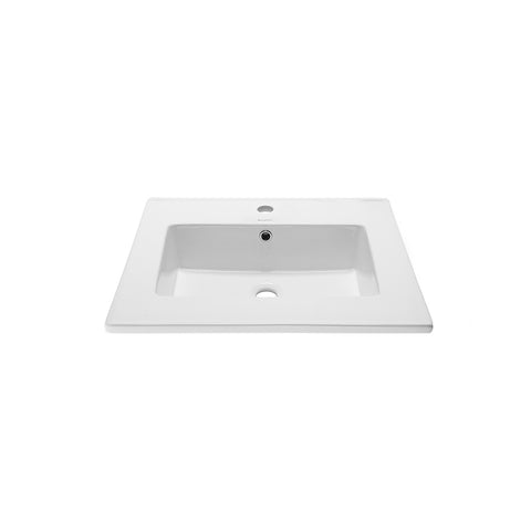 "Voltaire 25"" Vanity Top Bathroom Sink"