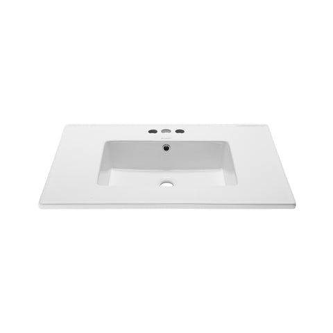 "Voltaire 31"" Vanity Top Bathroom Sink"