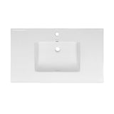"Voltaire 37"" Vanity Top Bathroom Sink"