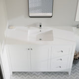 "Voltaire 49"" Vanity Top Bathroom Sink"