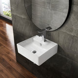 Claire Compact Ceramic Wall Hung Sink