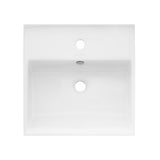 "Claire 15"" Square Wall-Mount Bathroom Sink"