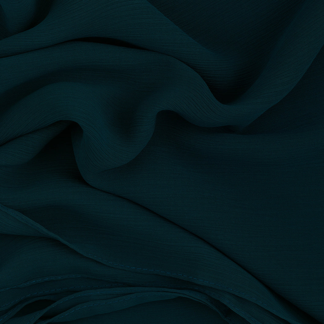 Ocean Wave Crinkled Georgette Hijab