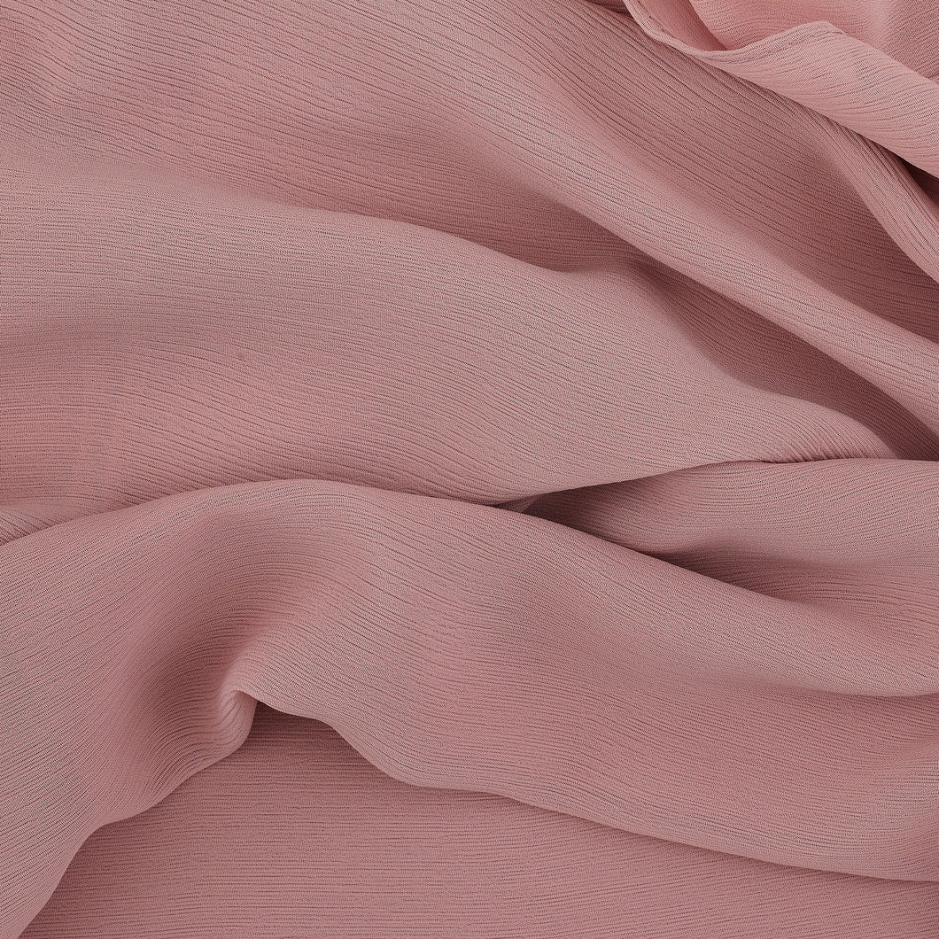 Rose Taupe Crinkled Georgette Hijab