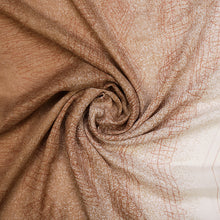 Brown and Cream Print Hijab