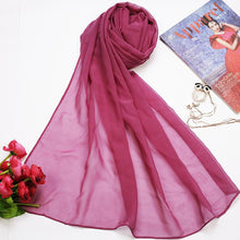 Onion Pink Silk Georgette Hijab