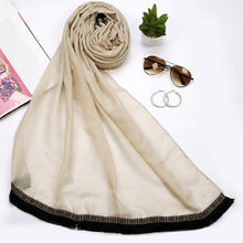 Bohemian Lace Cream Hijab