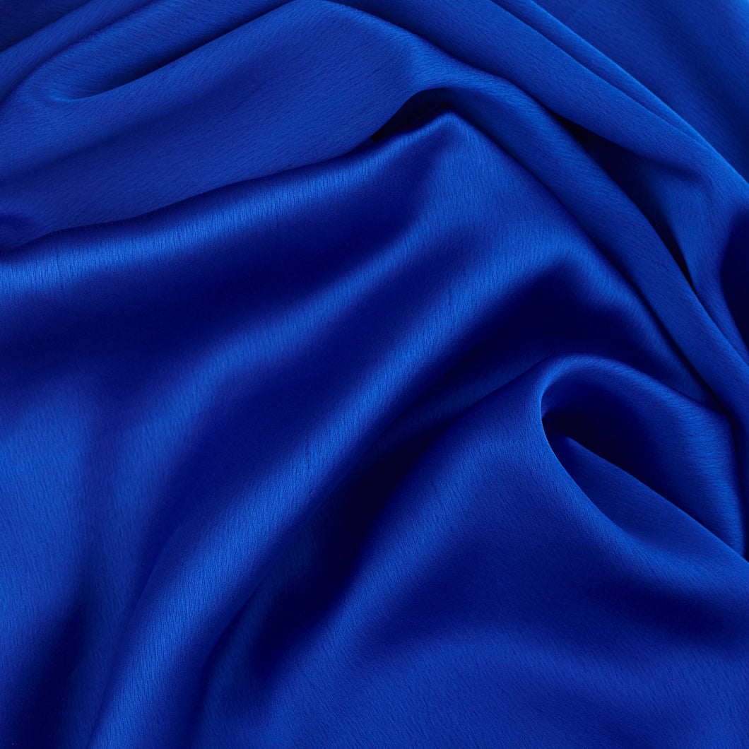 Luxe Royal Blue Silk Hijab