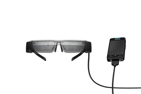 Epson Moverio BT-200 Smart Glasses (US Edition)