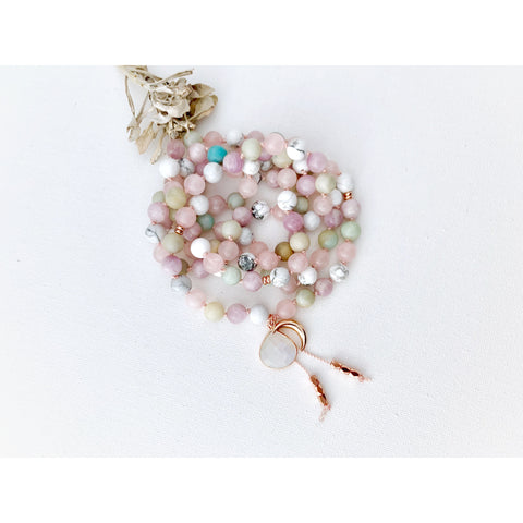 Moon Goddess Mala Necklace - Vibe Jewelry