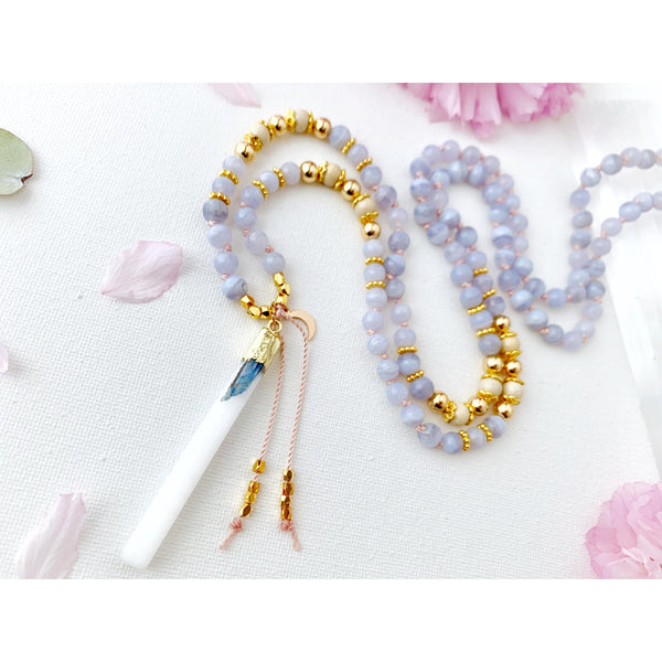 Courage Mala Necklace - Vibe Jewelry